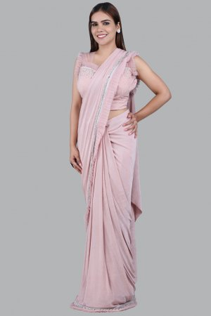 Pink Saree For Women