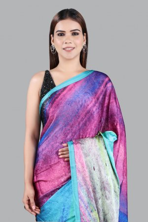 Casual Printed Saree For Women