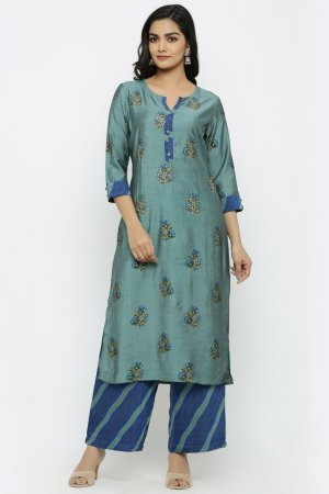 Cottage Green Kurta Set