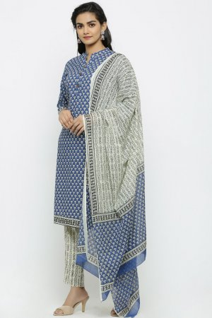 Mineral Blue Kurta Set