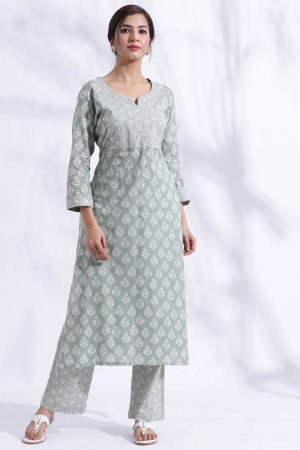 Pale Green Kurta Set